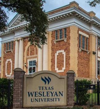 """<a href=""""https://txwes.edu/"""" target=""""_blank"""">Texas Wesleyan University</a>"""